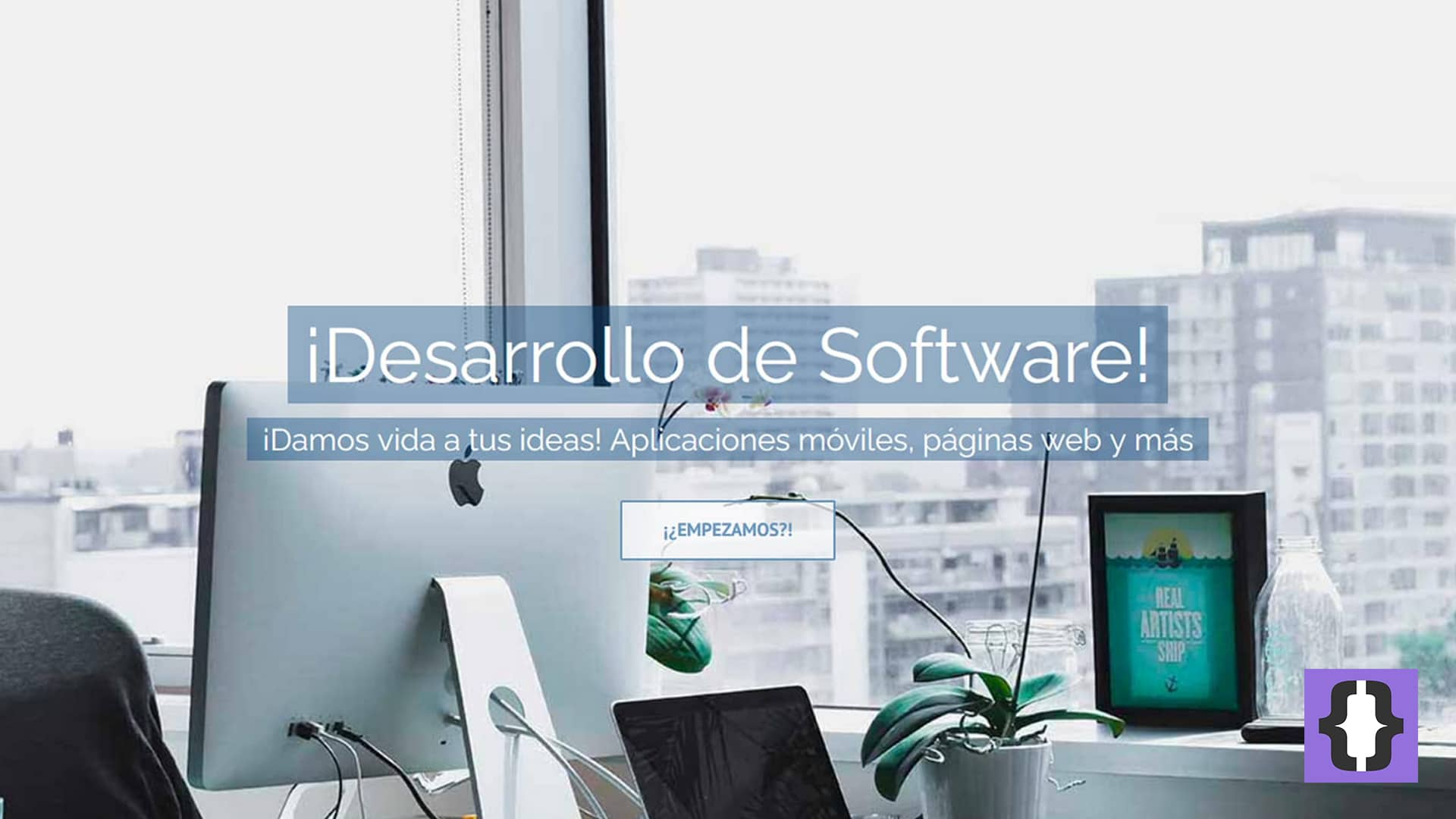 Servicio de desarrollo de software de transformación digital.
